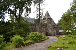 St Conans Kirk Church, located on Loch Awe..